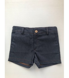 PANTALON CORTO DENIM BEBE